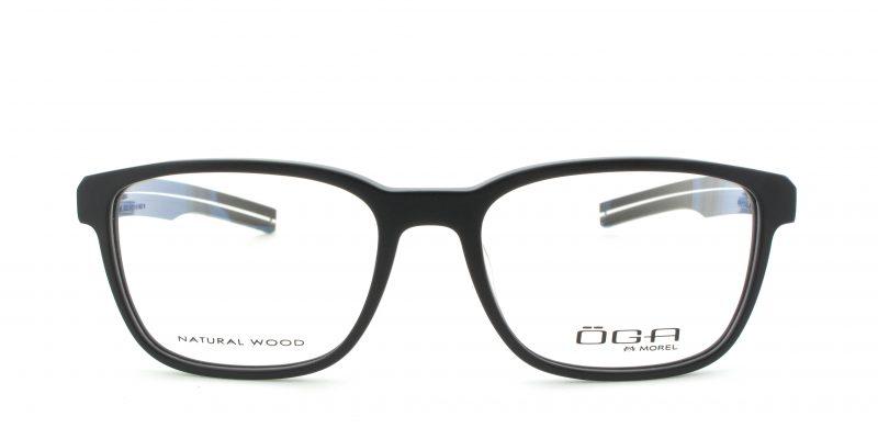 MOREL-Eyeglasses-10002 black-men-eyeglasses-plastic-rectangle