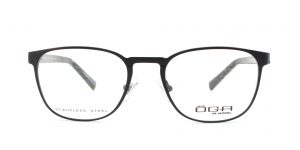 MOREL-Eyeglasses-10013 black-men-eyeglasses-metal-pantos