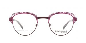 MOREL-Eyeglasses-20003 pink-women-eyeglasses-metal-pantos
