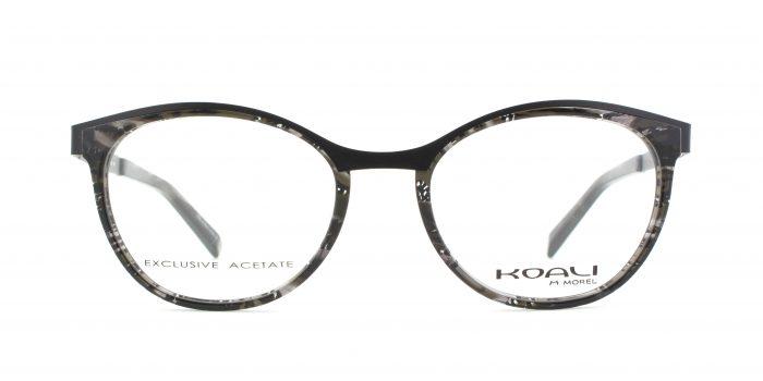 MOREL-Eyeglasses-20008 black-women-eyeglasses-mixed-oval