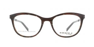 MOREL-Eyeglasses-20009 brown-women-eyeglasses-mixed-rectangle