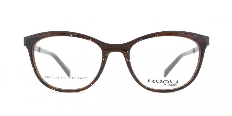 MOREL-Eyeglasses-20009 brown-women-eyeglasses-mixed-rectangle