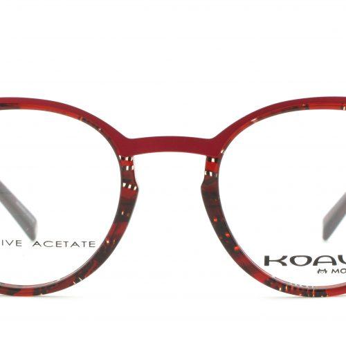 MOREL-Eyeglasses-20013 red-women-eyeglasses-mixed-pantos