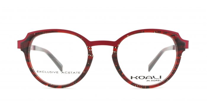 MOREL-Eyeglasses-20013 red-women-eyeglasses-mixed-pantos