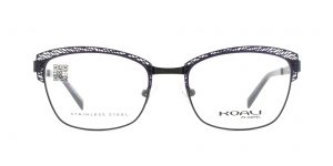 MOREL-Eyeglasses-20014 purple-women-eyeglasses-metal-rectangle