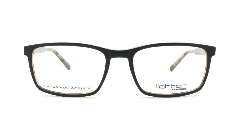 MOREL-Eyeglasses-30002 black-men-eyeglasses-plastic-rectangle