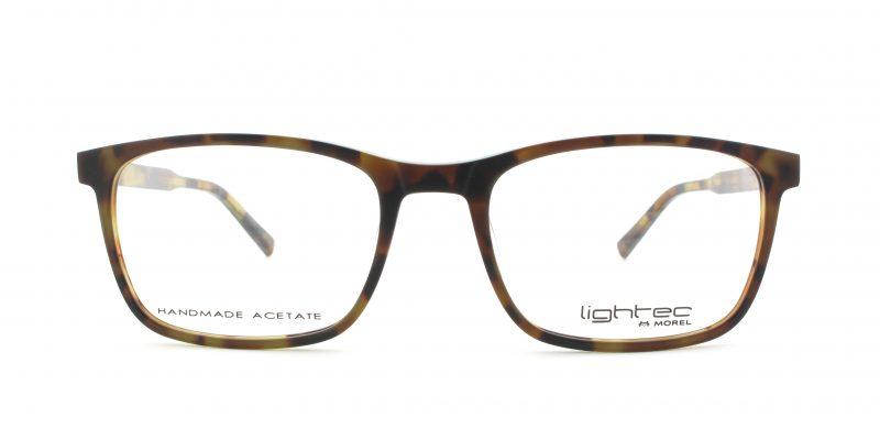 MOREL-Eyeglasses-30003 brown-men-eyeglasses-plastic-rectangle