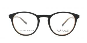 MOREL-Eyeglasses-30004 black-men-eyeglasses-plastic-pantos