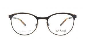 MOREL-Eyeglasses-30020 black-women-eyeglasses-metal-oval