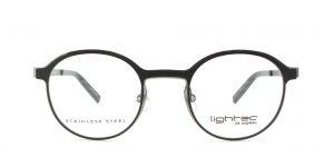MOREL-Eyeglasses-30021 black-women-eyeglasses-metal-round