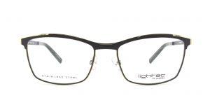 MOREL-Eyeglasses-30022 grey-women-eyeglasses-metal-rectangle