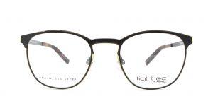MOREL-Eyeglasses-30016 black-men-eyeglasses-metal-pantos