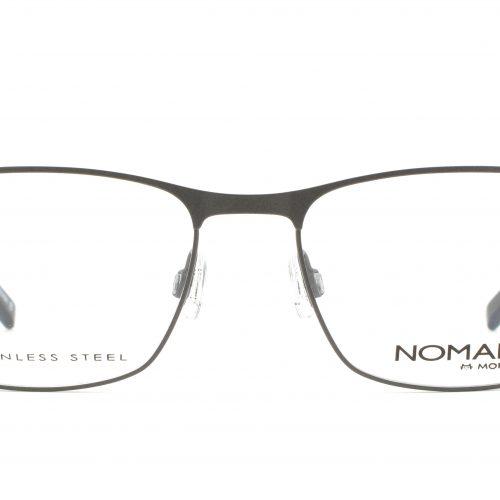 MOREL-Eyeglasses-40008 grey-men-eyeglasses-metal-rectangle