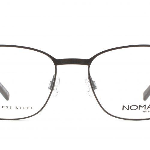 MOREL-Eyeglasses-40009 brown-men-eyeglasses-metal-rectangle
