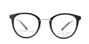 MOREL-Eyeglasses-60007 black-women-eyeglasses-plastic-oval
