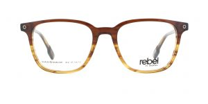 MOREL-Eyeglasses-70001 brown-men-eyeglasses