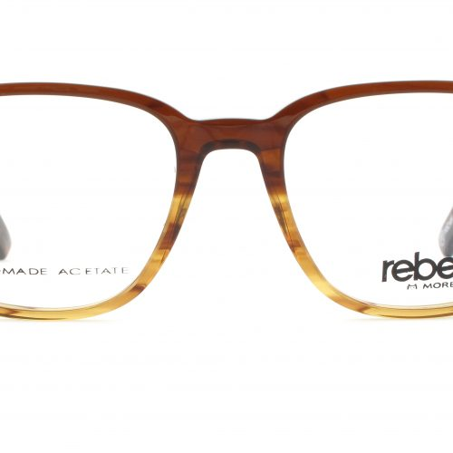 MOREL-Eyeglasses-70001 brown-men-eyeglasses