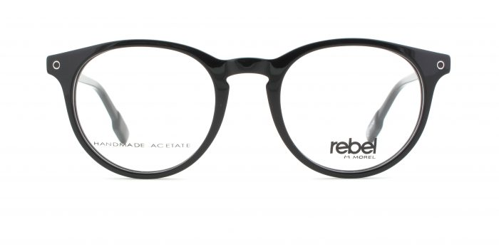 MOREL-Eyeglasses-70002 black-men-eyeglasses