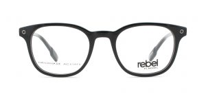 MOREL-Eyeglasses-70003 black-men-eyeglasses