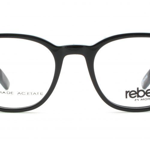 MOREL-Eyeglasses-70003 black-men-eyeglasses