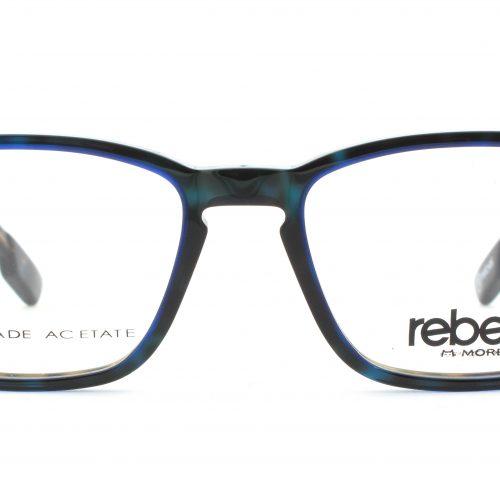 MOREL-Eyeglasses-70004 brown-men-eyeglasses