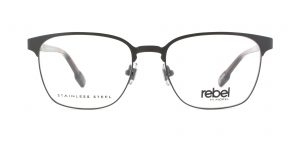 MOREL-Eyeglasses-70007 grey-men-eyeglasses-metal-pantos
