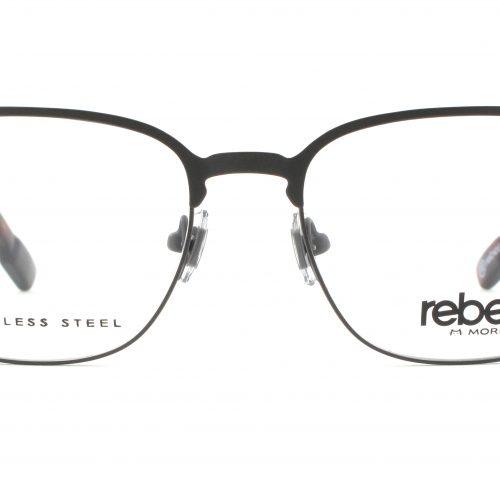 MOREL-Eyeglasses-70007 grey-men-eyeglasses-metal-pantos