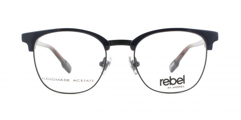 MOREL-Eyeglasses-70010 blue-men-eyeglasses
