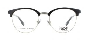 MOREL-Eyeglasses-70012 black-men-eyeglasses