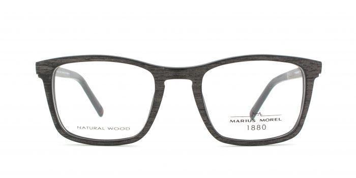 MOREL-Eyeglasses-3136M black-men-eyeglasses