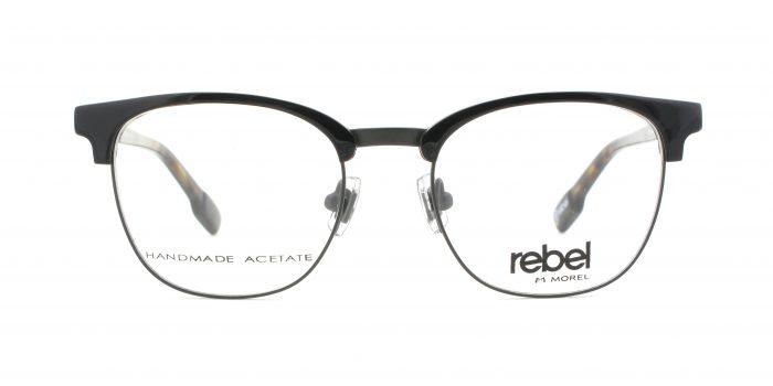 MOREL-Eyeglasses-70010 black-men-eyeglasses
