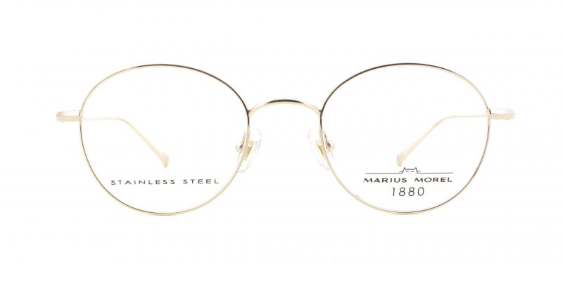 MOREL-Eyeglasses-60002 yellow-men-eyeglasses