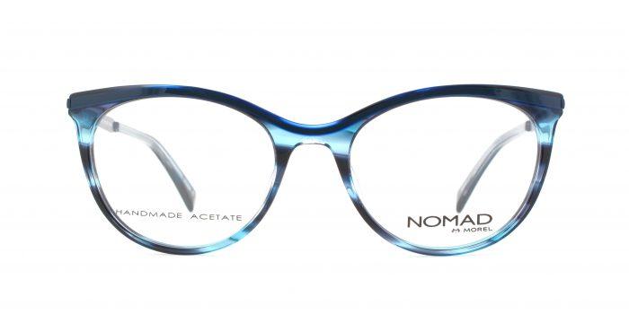 MOREL-Eyeglasses-40021 blue-women-eyeglasses-plastic-oval
