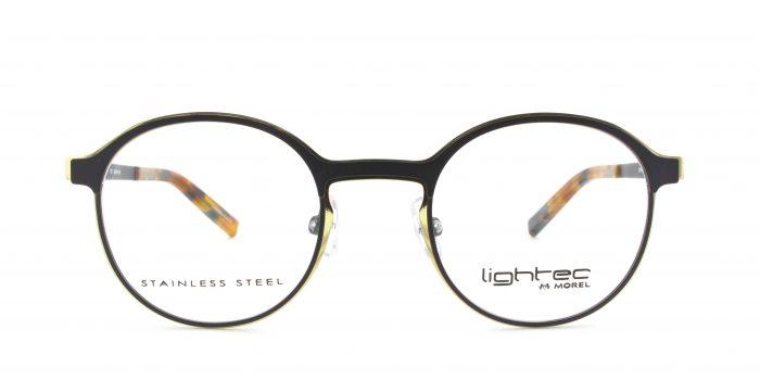 MOREL-Eyeglasses-30021 grey-women-eyeglasses-metal-round