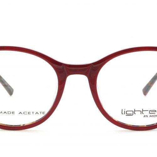 MOREL-Eyeglasses-30005 red-women-eyeglasses-plastic-oval