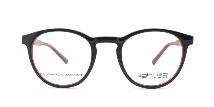 MOREL-Eyeglasses-30004 black-men-eyeglasses-plastic-pantos