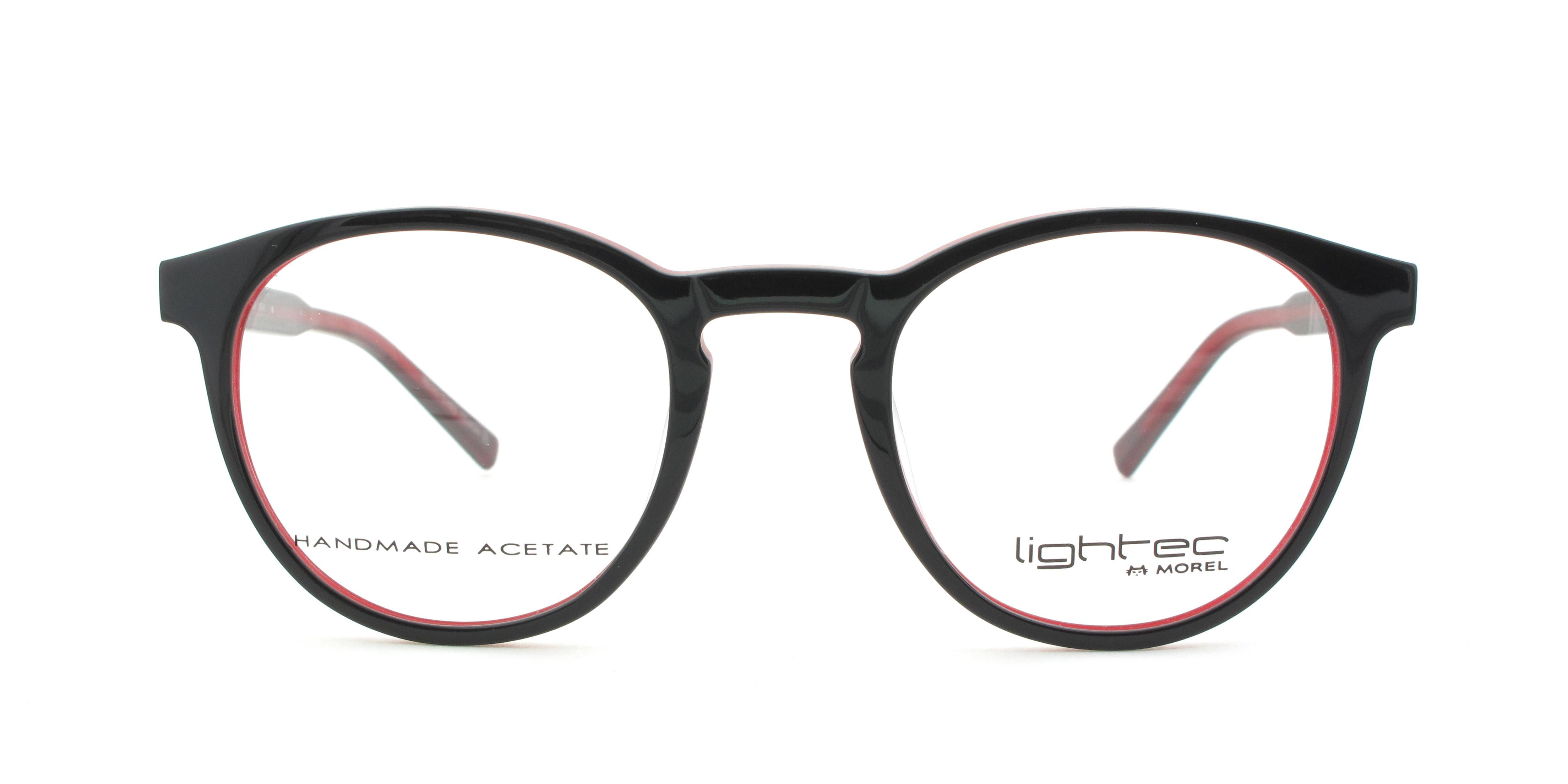 morel eyeglasses 30004 black men eyeglasses plastic pantos - Morel Frames