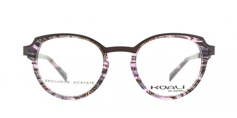MOREL-Eyeglasses-20013 purple-women-eyeglasses-mixed-pantos