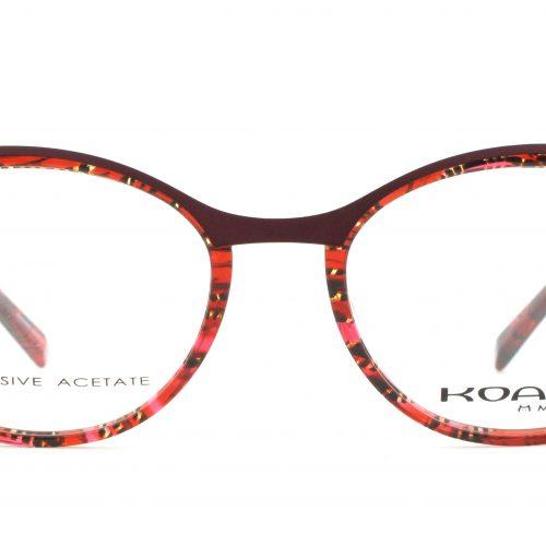 MOREL-Eyeglasses-20008 red-women-eyeglasses-mixed-oval