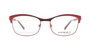 MOREL-Eyeglasses-20006 red-women-eyeglasses-metal-rectangle