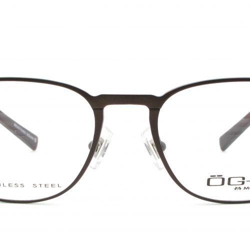 MOREL-Eyeglasses-10013 brown-men-eyeglasses-metal-pantos
