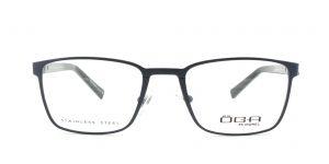 MOREL-Eyeglasses-10014 blue-men-eyeglasses-metal-rectangle