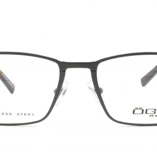 MOREL-Eyeglasses-10016 grey-men-eyeglasses-metal-rectangle