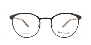 MOREL-Eyeglasses-30017 black-women-eyeglasses-metal-pantos