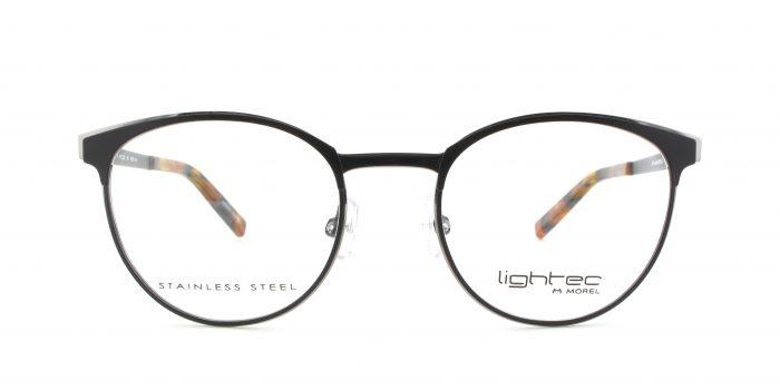 MOREL-Eyeglasses-30017 black-women-eyeglasses-metal-pantos