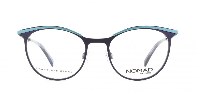MOREL-Eyeglasses-40017 purple-women-eyeglasses-metal-oval