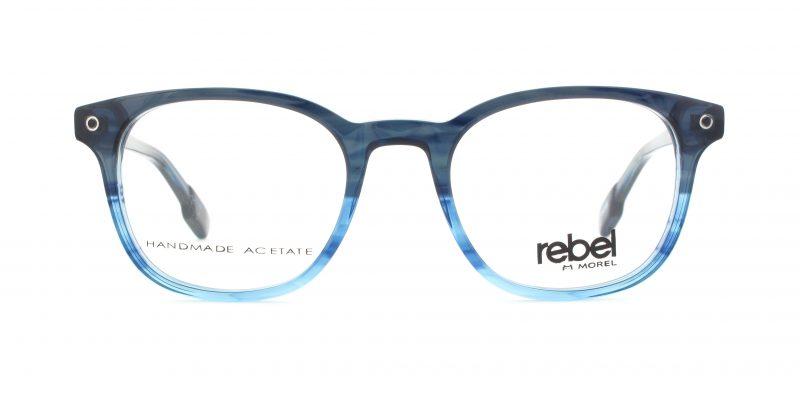 MOREL-Eyeglasses-70003 blue-men-eyeglasses