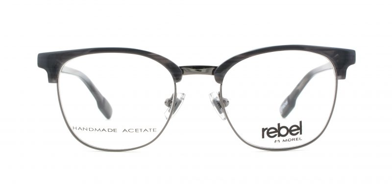 MOREL-Eyeglasses-70010 grey-men-eyeglasses