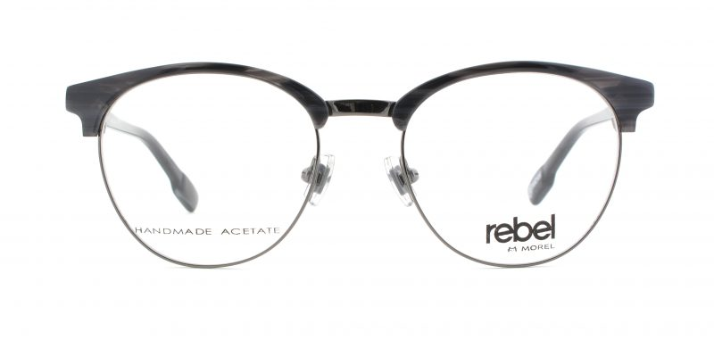 MOREL-Eyeglasses-70012 grey-men-eyeglasses