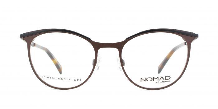 MOREL-Eyeglasses-40017 brown-women-eyeglasses-metal-oval